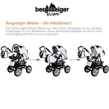 Bergsteiger Milano kombikinderwagen test