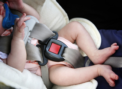 Kombikinderwagen mit Babyschale
